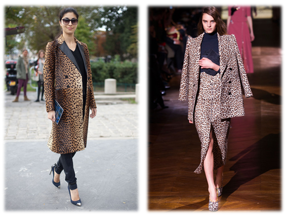Leopard Print Style Inspiration. Our leopard print collection in-store offers a timeless faux fur coat €295, and matching pencil skirt €119.