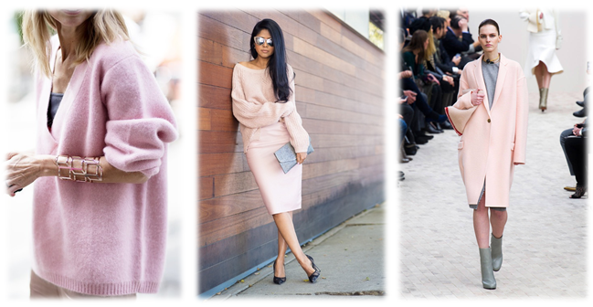 Pastel Pink Inspiration, similar shades and styles can be seen in-store today.