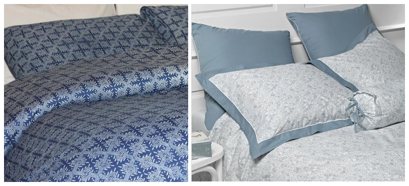 The Venice Duvet Set and The Lucia Floral Bed Linen Collection.
