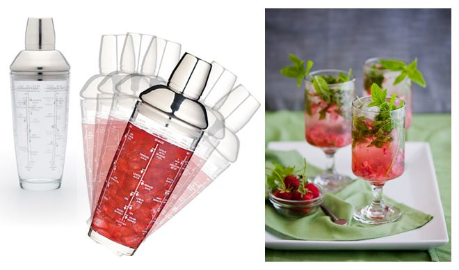 Glass Boston Cocktail Shaker €19.95.