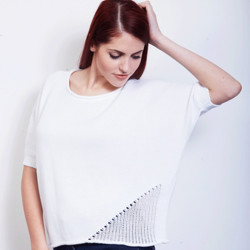 Cotton Batwing Sweater. €24.95 - save €10!