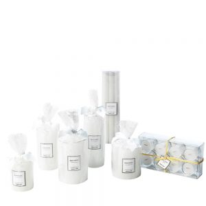 Bliss White Candles, from €8.95