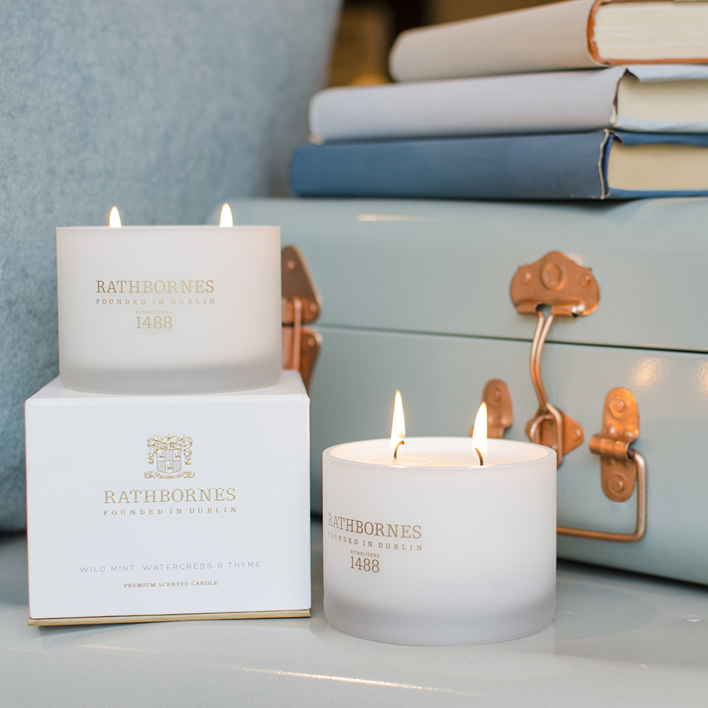 Rathbornes Wild Mint, Watercress & Thyme Candle