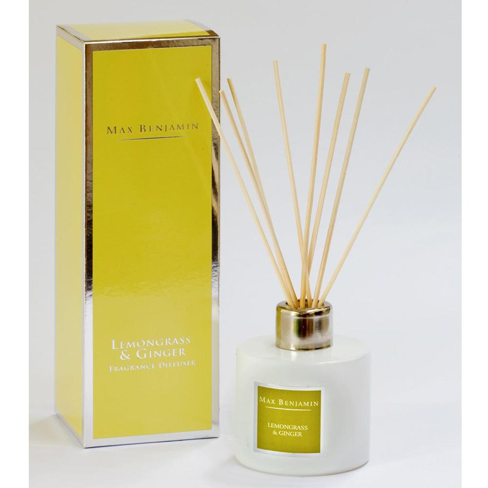 Max Benjamin Lemongrass And Ginger Diffuser, €29.95