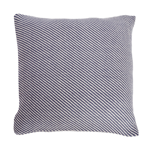 Bias Twill Cushion in Indigo, €39.95