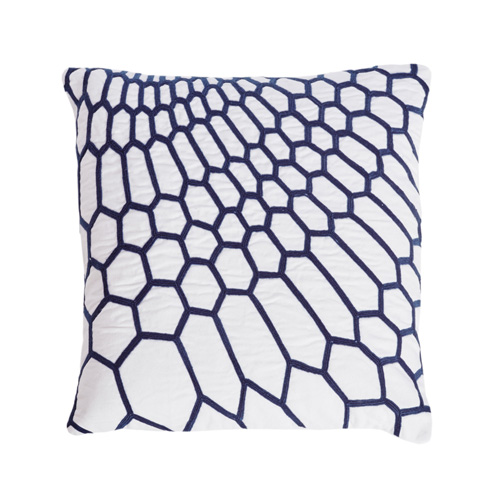 Labyrinth Cushion in Navy, €39.95