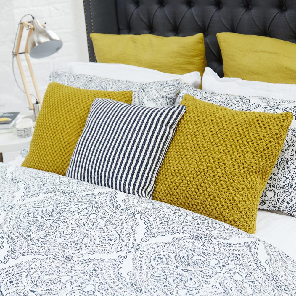 Phoebe Navy Bed Linen Collection, From €24.95