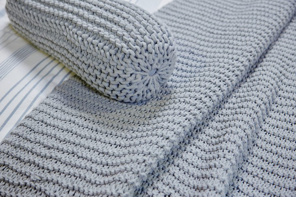 Hand Knit Throw Collection €69.95 each