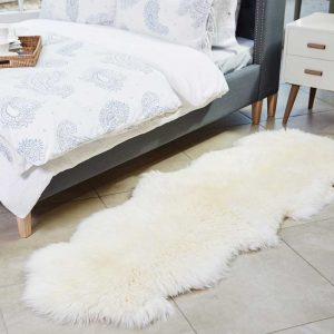 Irish Sheepskin rug - double, €169