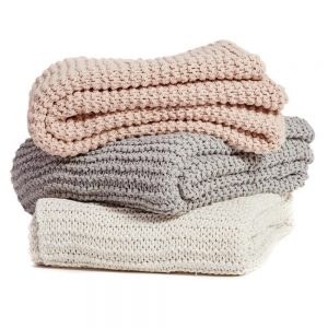 Hand Knit Throw Collection, from €69.95