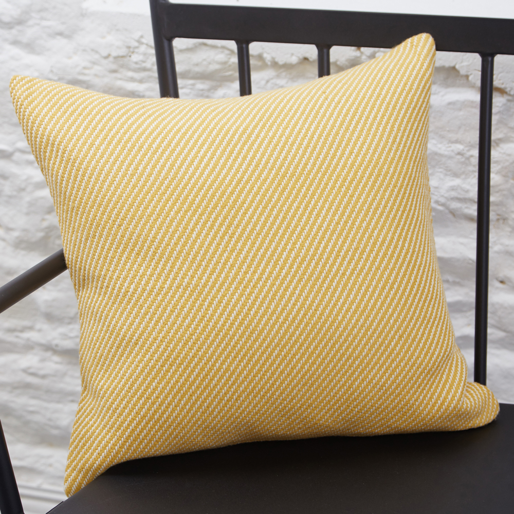 Bias Twill Cushion Aspen Gold, €39.95