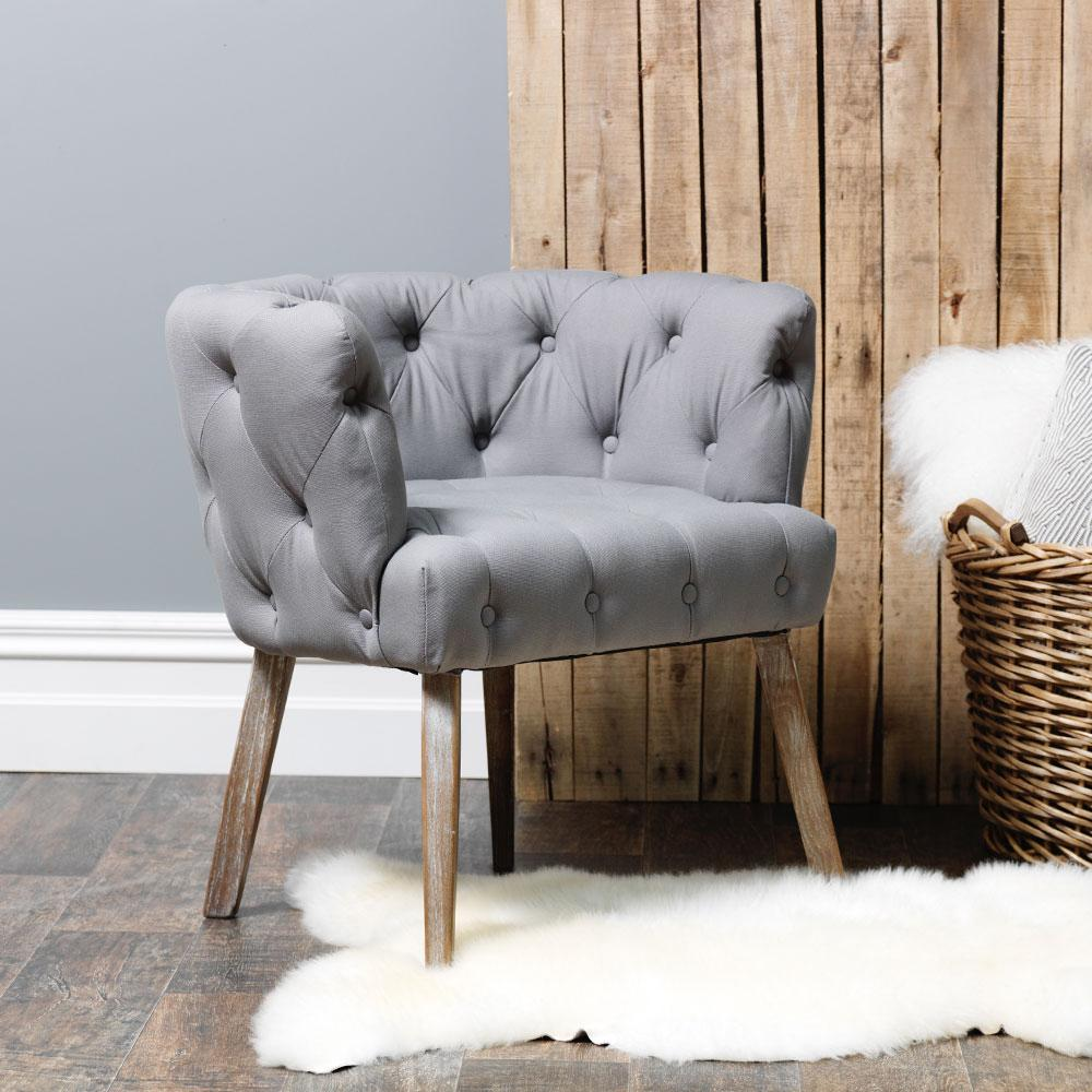 Grey Renard Accent Chair, €298