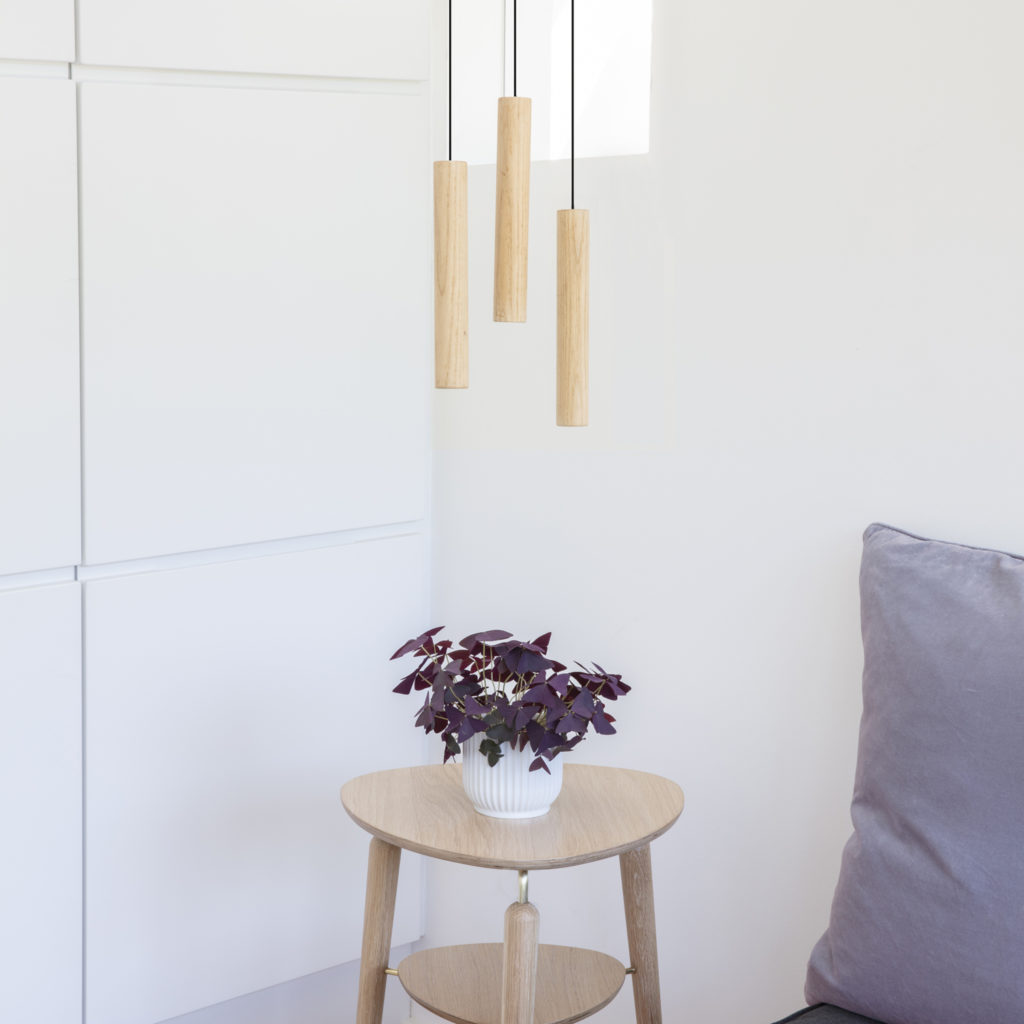 Oak Chime Pendant Lamp